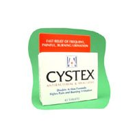 Buy Cystex Tablets - For Urinary Infection Discomfort Pain Relief - 40 Ea (Cystex, Health & Personal Care, Products, Health Care, Pain Relievers, Urinary Tract Infection Treatments)