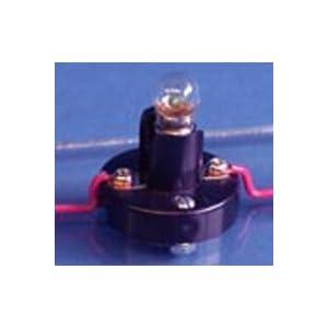 Mini Light Bulb 3.2v 150mA w/ Socket: Incandescent Bulbs ...