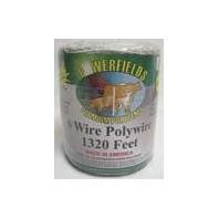 Powerfields Ew615-1320 6 Wire Polywire White 1,320' Roll