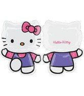 "Anagram International 1680001 Hello Kitty Balloon Pack, 30"", Pink Purple"