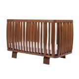 Bloom Retro Crib, Oak - 1