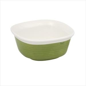 Corningware Etch 20-Ounce Square Baking Dish, Green