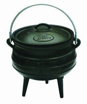 Best Duty Cast Iron Potjie Pot Size 2 - Include complementary Lid Lifter Knob ($9.95 value) (Cast Iron Potjie compare prices)