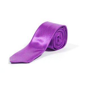 PURPLE, NEW PLAIN COLOURED SKINNY TIES. 16 COLOURS AVAILABLE. HANDMADE. WEDDING, FASHION