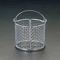 【クリックで詳細表示】200x200mm [ステンレス製]丸型洗浄かご EA992CF-13: DIY・工具