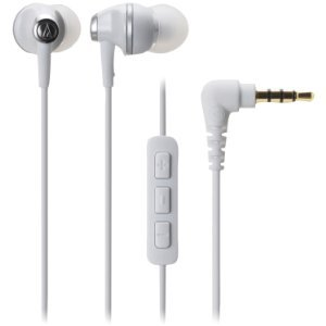 ( earphone ) ATH-CK313IWH In-Ear Communications Audio-Technica headphones with Remote and Mic - White (manufacturing end products) [parallel import goods]