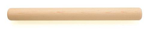 Gain Fletchers' Mill Bakery Rolling Pin, 18.5-Inch, Maple dispense