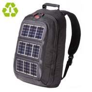Voltaic Solar Charger Converter Backpack - Silver Panels