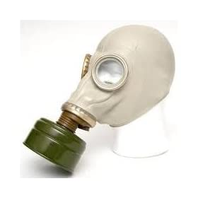 Gas Mask Civilian Model Nuclear Biological Chemical by evirstar