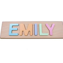 Child's Personalized Name Puzzle by Ababy