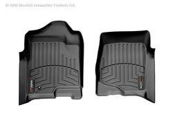 WeatherTech 440661 Custom Fit Front FloorLiners (Black)