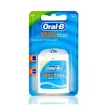 THREE PACKS of Oral-B Ultra Floss Waxed Mint