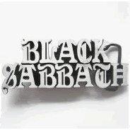 Black Sabbath Belt Buckle