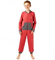 Cotton Rich Liverpool Football Club Hooded Onesie