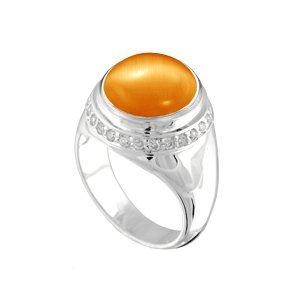 Kameleon Jewelry KR34 Ring with CZ Size 8