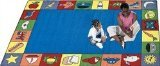 "Joy Carpets Kid Essentials Early Childhood Jump Start Rug, Multicolored, 10'9"" x 13'2"""