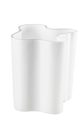 iittala Alvar Aalto 8-Inch Vase, White