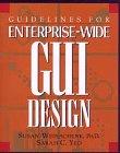 Guidelines for Enterprise-Wide Gui Design