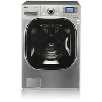 LG WM3875HVCA 27 4.8 cu. Ft. Front-Load Washer - Graphite Steel