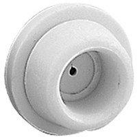 Stanley Hardware Self-Adhesive Wall Doorstop, Light Gray, 2-Pack #577099
