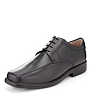 Airflex™ Leather Wide Fit Tramline Shoes