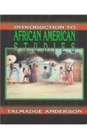 Introduction to African American Studies: Cultural...
