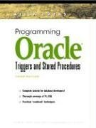 Programming Oracle Triggers and Stored Procedures
