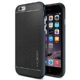 iPhone 6 ケース Spigen [ 二重構造 スリム ] Apple iPhone 4.7 (2014) ネオ・ハイブリッド (国内正規品) (メタル・スレート SGP11030)