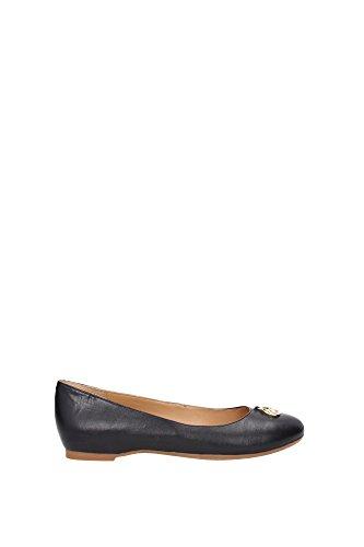 Ballerine Armani Jeans Donna Pelle Nero e Oro A55282912 Nero 37EU