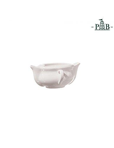 La Porcellana Bianca italienische Fettabschöpfer Boot Kanne aus Porzellan