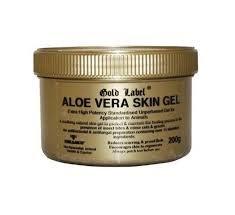 Gold Label Aloe Vera Skin Gel for horses, 200g - A soothing natural anti-bacterial and anti-fungal Aloe Vera Skin Gel