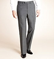 Autograph Supercrease® Flat Front Trousers with Wool