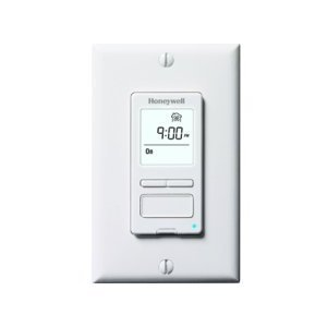 Honeywell Hvc0001 Digital Bath Fan Control Programmable Household Thermostats