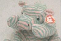 TY Pillow Pal - ZULU the Zebra