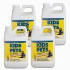KIDS 'N' PETS CARPET CLEANER CONCENTRATE (for carpet cleaning machines) 4 pack- 48 fluid ounces (192 fluid ounces total)