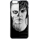 "evan peters iPhone 6 6s regular Cases, Custom Protective Hard Plastic White Case Cover for New iPhone 6 6s 4.7"" inch"
