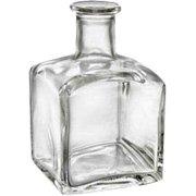 Square Decorative Glass Diffuser Bottle - 1 pc