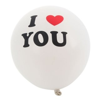 "10 piece Balloons "" I Love You"" - 1"