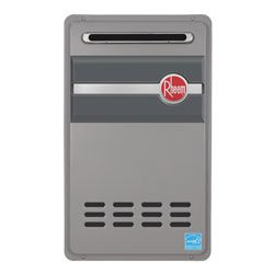 Rheem RTGH-95XN 9.5 GPM Outdoor High Efficiency Tankless Natural Gas Water Heate