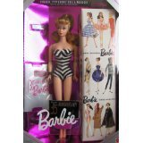 Barbie 35th Anniversary Special Edition Reproduction of Original 1959 Barbie Doll & Package (1993) - Blonde Hair (Old Barbies compare prices)