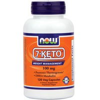NOW Foods - 7-Keto 100 Mg 120 Vcaps