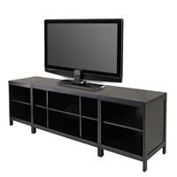 Media TV Stand by Winsome Trading