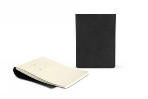 Moleskine - Repuesto de cuaderno para funda de iPad Mini/Kindle Fire, color negro