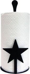 Village Wrought Iron PT-C-45 Paper Towel Holder - Star Design