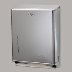 C-Fold Multifold Towel Dispenser - Stainless Steel