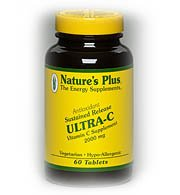 Ultra C 2000Mg Time Release With Rose Hips Nature'S Plus 90 Sustained Release Ta