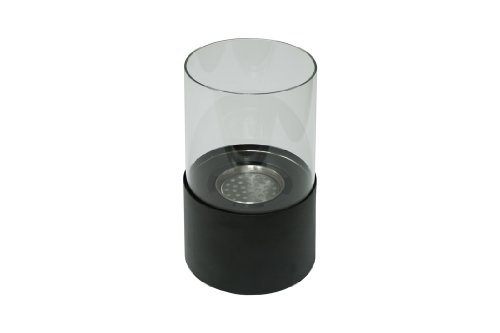 Ignis Circum Black Tabletop Ventless Ethanol Fireplace