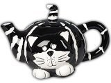 Chester The Cat Teapot Purrrrr-fect For Tea Parties,Dining And Kitchen Decor