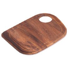 Franke Vision Wood Cutting Board In Teak - Novelty Shape - Kitchen Utensil - Cooking Tools - Home Collection - Perfect For Preparing Any Artistic Dinner Or Serving. front-617834