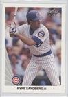 Ryne Sandberg 1990 Leaf Baseball #98 (Chicago Cubs )